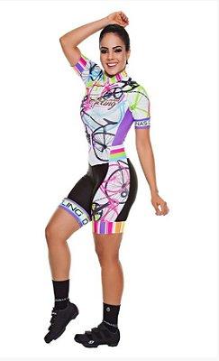 Macaquinho Feminino Manga Curta Cycling (LINK PARA COMPRA NA DESCRIÇÃO)