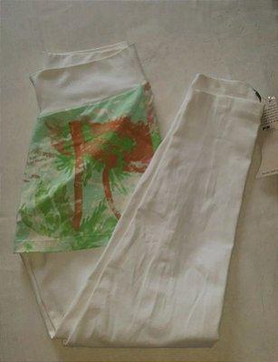 Calça Legging Sainha Verde (COM AVARIA)