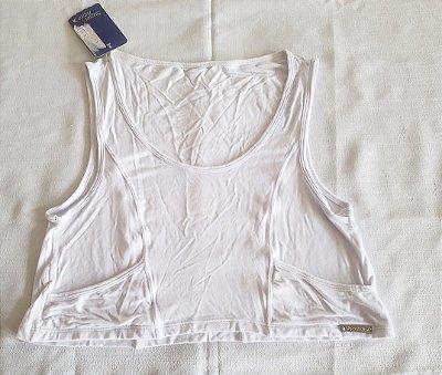 Cropped Bolsinho Branco (COM AVARIA)