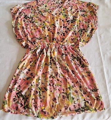 Vestido Saída de Praia Flores