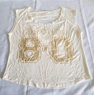 Blusa Silk Dourado