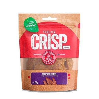 Petisco para Cães Natural Crisp Strips de Fígado 100g