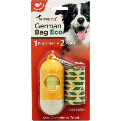 Kit Saquinhos Higienicos German Hart Bag Eco Dispenser Cata-Caca Colméia