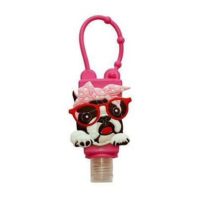 German Hart Alcool Gel Bulldog Francês Lacinho 30ml
