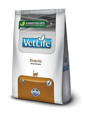 Ração para Gatos Vet Life Diabetic 2kg