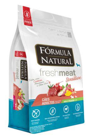Ração para Cães Adultos Fórmula Natural Fresh Meat Mini Sensitive 1kg