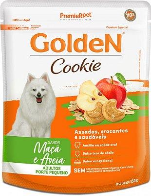 Biscoito para Cães Adultos Golden Cookie Maçã e Aveia Pequeno Porte 350g
