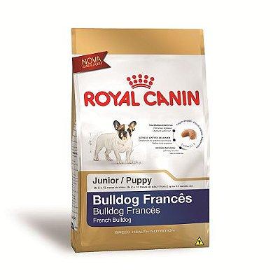 Ração Royal Canin para Cães Filhotes da Raça Bulldog Francês 2,5kg