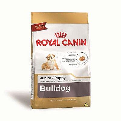 Ração Royal Canin para Cães Filhotes da Raça Bulldog 12kg