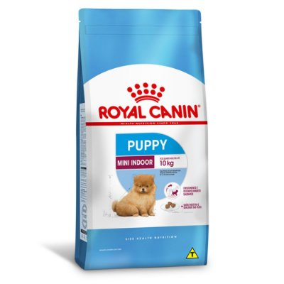 Ração Royal Canin Mini Indoor Junior para Cães Filhotes Raças Pequenas - Frango