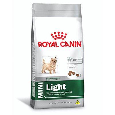 Ração Royal Canin Mini Light para Cães Pequeno Porte - Frango