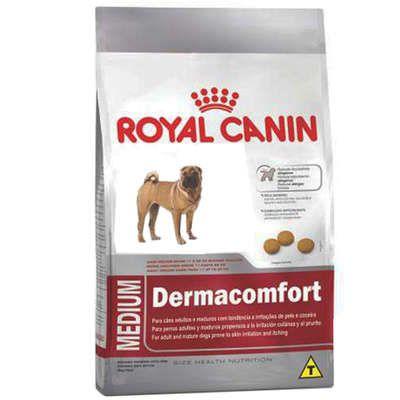 Ração Royal Canin Medium Dermacomfort para Cães Adultos ou Idosos de Raças Médias 2kg