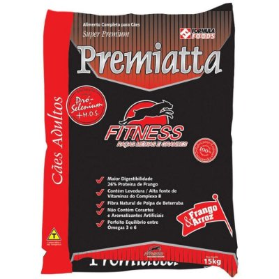 Ração Premiatta Adulto Fitness 15KG