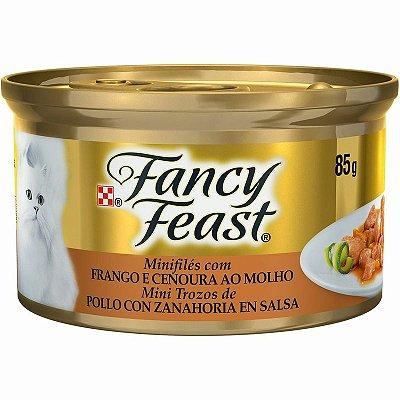 Fancy Feast Frango e Cenoura ao Molho 85g
