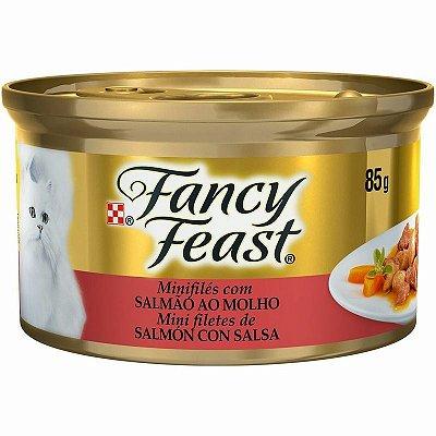 Fancy Feast Salmão ao Molho 85g