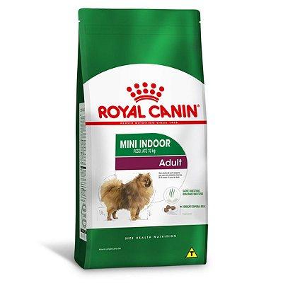 Ração Royal Canin Mini Indoor Adult para Cães Adultos de Raças Pequenas - Frango