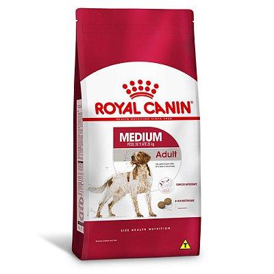Ração Royal Canin Medium Adult para Cães Adultos de Raças Médias - Frango