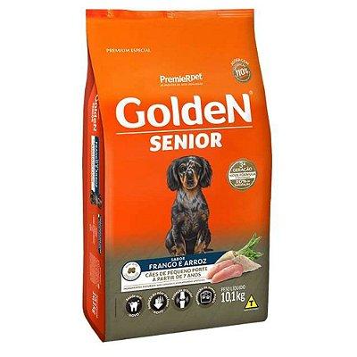 Ração para Cães Idosos Golden Formula Senior Raças Pequenas Frango e Arroz 3kg