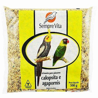 Ração Sempre Vita para Calopsitas e Agapornis 500g