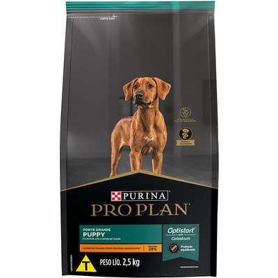 Ração para Cães Pro Plan Filhotes Raças Grandes