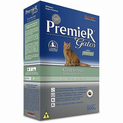 Ração Premier Gatos Castrados Acima 12 Anos