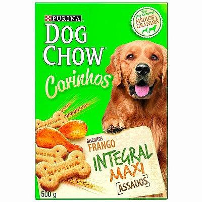 Biscoito Petisco Nestlé Purina Dog Chow Carinhos Integral Maxi