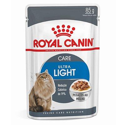 Ração para gatos Adultos Royal Canin Sachê Feline Ultra Light 85g