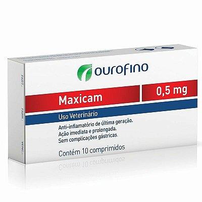 Maxicam 0,5mg - 10 Comprimidos - Ourofino