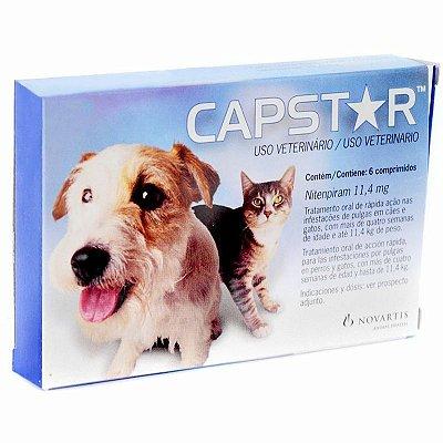 Capstar 11,4MG - 6 Comprimidos