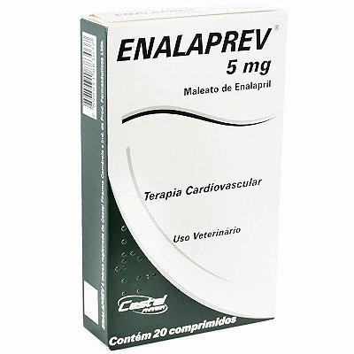 Enalaprev 5MG - 20 Comprimidos
