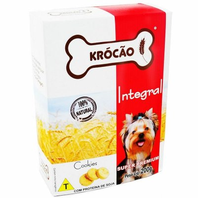 Biscoito Krocão Integral Cookies 200G