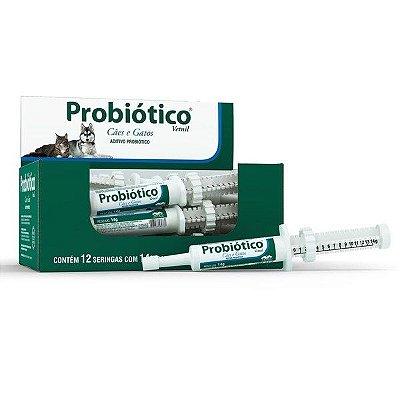 Suplemento Vetnil Probiótico para Cães e Gatos - 14gr