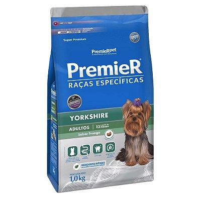 Ração Premier Raças Específicas Yorkshire para Cães Adultos - Frango