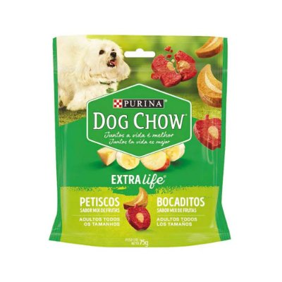 Dog Chow Bocaditos sabor Mix de Frutas 75g
