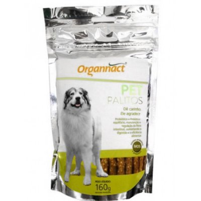 Pet Palitos Organnact 160G