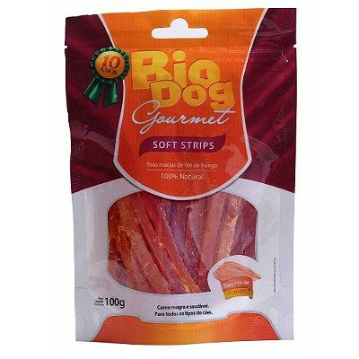 BioDog Gourmet Soft Strips sabor Frango 100g