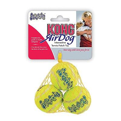 Kong Squeakair Tennis Balls Small (AST3) 3 Unidades