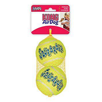 Kong Squeakair Tennis Balls Large (AST1) 2 Unidades