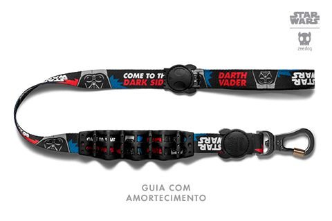 Zeedog Star Wars Guia com Amortecedor Darth Vader