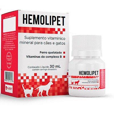 Suplemento Hemolipet 30ml - Avert