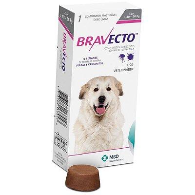 Antipulgas e Carrapatos MSD Bravecto para Cães de 40 A 56KG