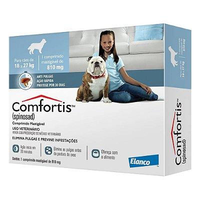Antipulgas Comfortis para Cães de 18 a 27kg - Elanco