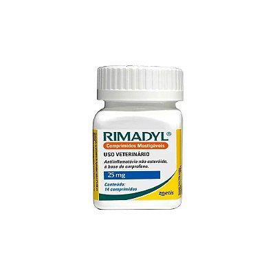 Rimadyl 25 mg - Anti-inflamatório - Zoetis