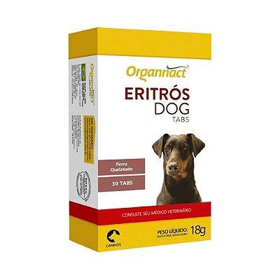 Organnact - Eritrós Dog Tabs - 30 Tabs