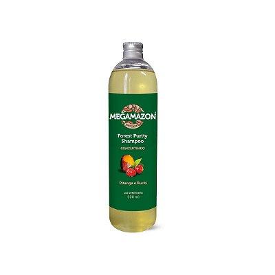 Megamazon Shampoo para Cães e Gatos Forest Purity Pitanga e Buriti 300 ml