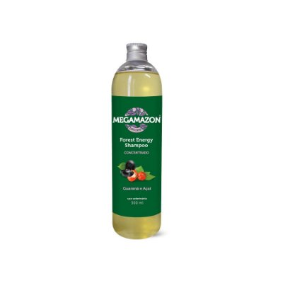 Megamazon Shampoo para Cães e Gatos Forest Energy Guaraná e Açaí 300 ml