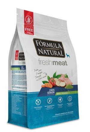 Ração para Cães Fórmula Natural Fresh Meat Senior Mini e Pequenos