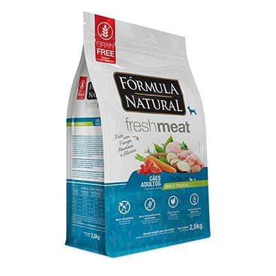 Ração para Cães Adultos Formula Natural Fresh Meat Mini e Pequenos - Frango