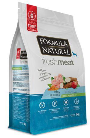 Ração para Cães Fórmula Natural Fresh Meat Filhotes Mini e Pequenos