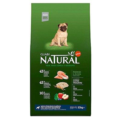 Ração para Cães Adultos Guabi Natural Sensitive Mini e Pequenos - Salmão
